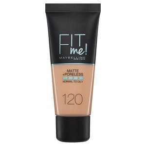 maybelline foundation matte fit me 120
