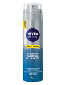 nivea for men scheergel active energy