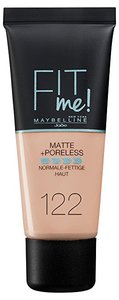 Maybelline foundation matte fit me 122