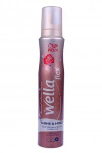 Wellaflex Mousse 200ml shine & style US