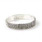 armband met kristalen