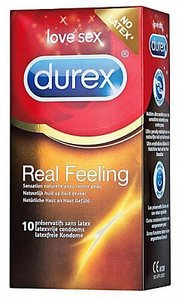 Durex condooms real feeling 10 st